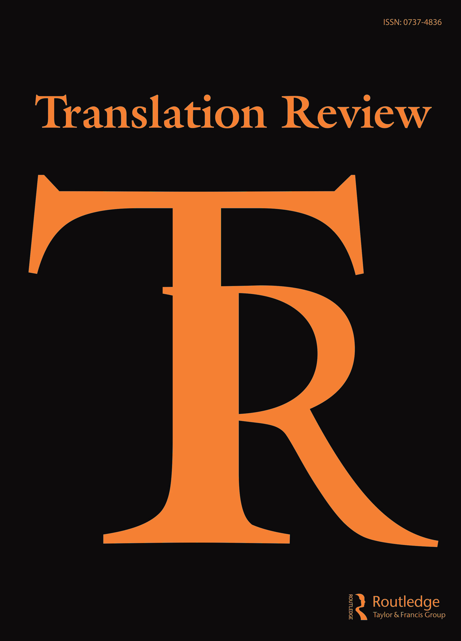 Latest Issue of Translation Review